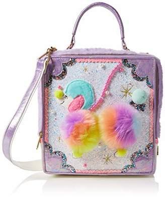 Irregular Choice Womens Poodle-oo Top-Handle Bag