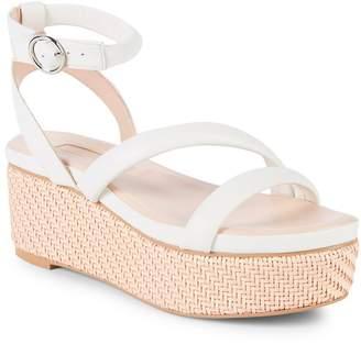 AVEC LES FILLES Women's Ava Leather Platform Sandals