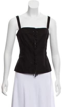 Creatures of Comfort Lace-Up Sleeveless Top w/ Tags