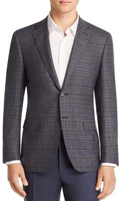 Canali Siena Mèlange Plaid Classic Fit Sport Coat