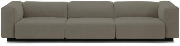 Buy Soft Modular Sofa, 3-Sitzer, warmgrey (Laser 05)!
