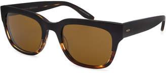 Barton Perreira Men's Stax Rectangular Acetate Sunglasses