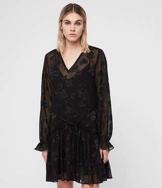 AllSaints (オールセインツ) - Alia Flora Dress