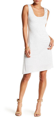 H By Bordeaux Side Ruched Tank Dress $80 thestylecure.com