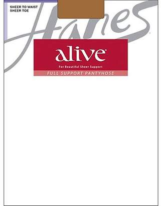 Hanes Alive Regular, All Sheer Pantyhose 3-Pack