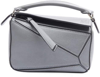 Loewe Puzzle Small Grained Satchel Bag