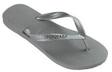 havaiana's Metallic Sandal, Silver