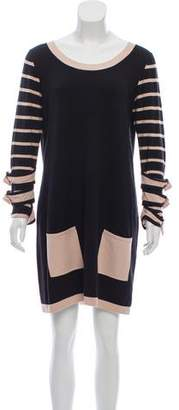 ALICE by Temperley Long Sleeve Sweater Dress