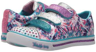 Skechers Twinkle Toes - Sparkle Glitz 10839L Lights Girl's Shoes