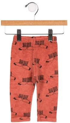Bobo Choses Infants' Printed Terry Cloth Pants