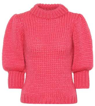 Ganni Mohair and wool sweater