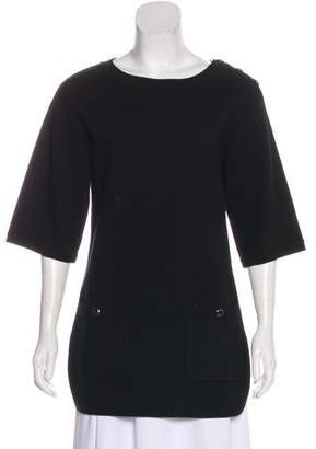 Chanel Wool & Cashmere-Blend Knit Tunic w/ Tags
