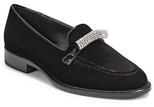Giuseppe Zanotti Classic Embellished Loafers