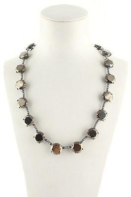 Bottega VenetaBottega Veneta Sterling Crystal Necklace MSRP $1195