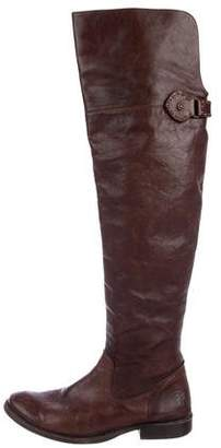 Frye Leather Over-The-Knee Boots