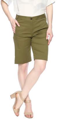 Elliott Lauren Button Detail Shorts