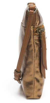Frye Ivy Metallic Nylon Crossbody Bag