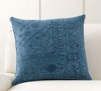 Pottery Barn Romilly Embroidered Pillow Cover