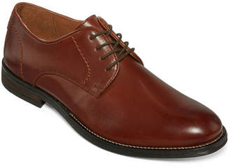 STAFFORD Stafford Zayne Mens Plain-Toe Dress Shoes