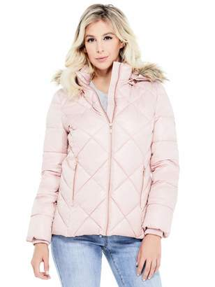Factory Guess Women's Lirisa Quilted Puffer Jacket