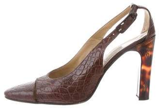 Gianni Versace Vintage Leather Pumps