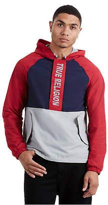 True Religion Raglan Half Zip Jacket