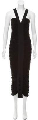 The Row Ruched Maxi Dress