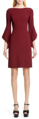 Michael Kors COLLECTION Drape Sleeve Sheath Dress