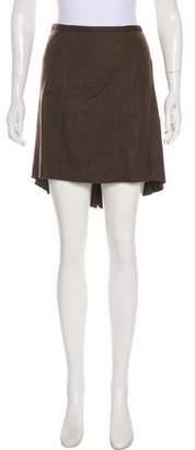 Diane von Furstenberg Wool Mini Skirt