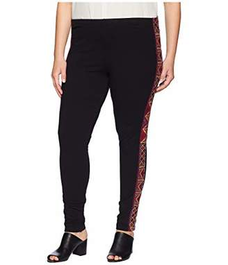 Johnny Was JWLA By Women's Plus Size Embroidered Legging
