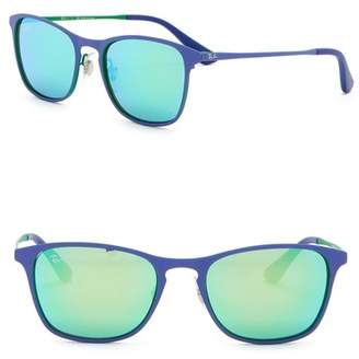 Ray-Ban 48mm Square Sunglasses (Little Kids)