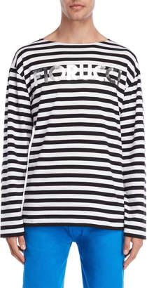 Fiorucci Iconic Stripe Long Sleeve Tee