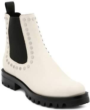Dolce Vita Women's Peton Studded Leather Chelsea Booties
