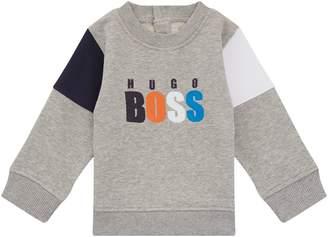 BOSS Logo Detail Sweater