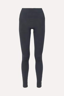 adidas by Stella McCartney Seamless Climalite Leggings - Blue