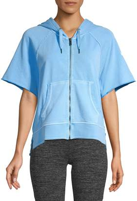 Calvin Klein Zip-Up Cotton Hoodie
