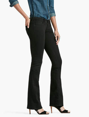 Lucky Brand Charlie Low Rise Mini Bootcut Jean In Black Amber