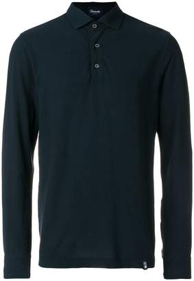 Drumohr longsleeved polo shirt