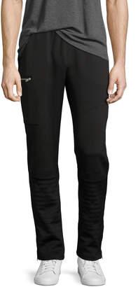 Ovadia & Sons Zip-Pocket Moto Pants, Black