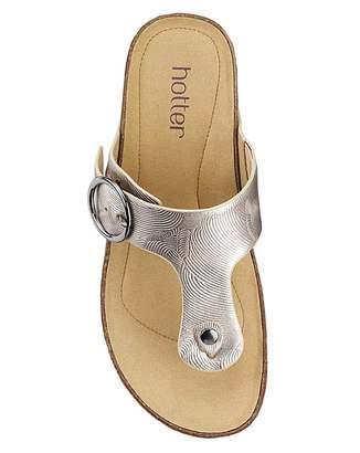 62c0743b9d73 Hotter Resort Wide Fit Mule Sandal
