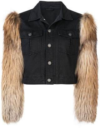 Cinq à Sept Emmy fury sleeve jacket