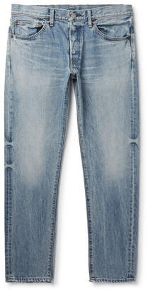 Co Fabric-Brand & Slim-Fit Denim Jeans
