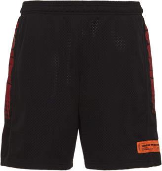 Heron Preston Heron Racing Cotton Shorts