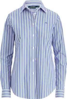 Ralph Lauren Monogram Striped Shirt