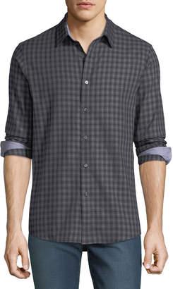 Michael Kors Men's Tailor Check Sport Shirt