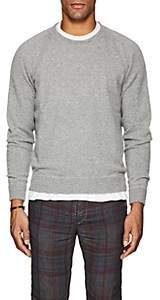 Massimo Alba Men's Cashmere Raglan-Sleeve Sweater-Light Gray