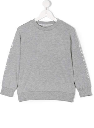 Calvin Klein Kids logo print sweatshirt