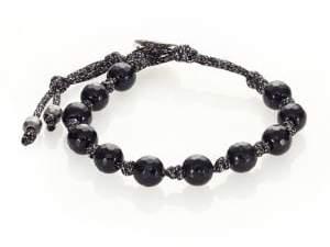 Chan Luu Onyx Bead Bracelet