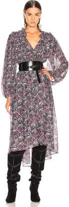 Isabel Marant Norja Dress in Black | FWRD