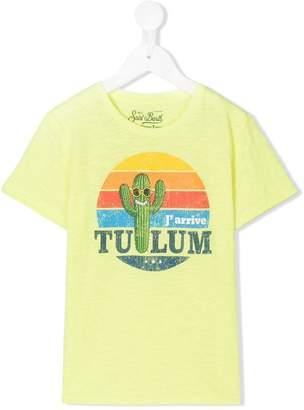 MC2 Saint Barth Kids cactus printed T-shirt